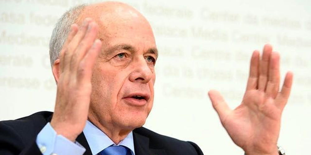 Ueli Maurer, Presidente De Suiza