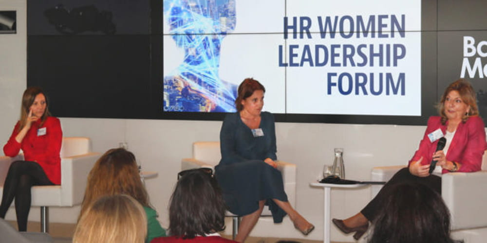 Ponentes en el HR Women Leadership Forum 2019
