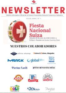 Boletín Julio 2018 - Cámara Venezolano Suiza de Comercio e Industria