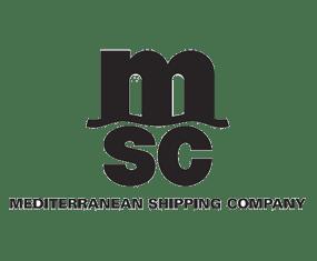 Logo Mediterranean Shipping Company